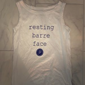 Pure Barre Resting Barre Face Shirt XS